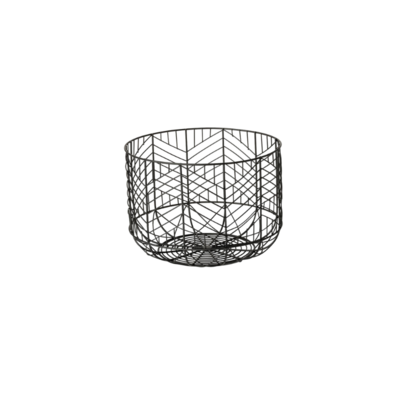 IDRIS METAL GEOMETRIC BOWL, SMALL