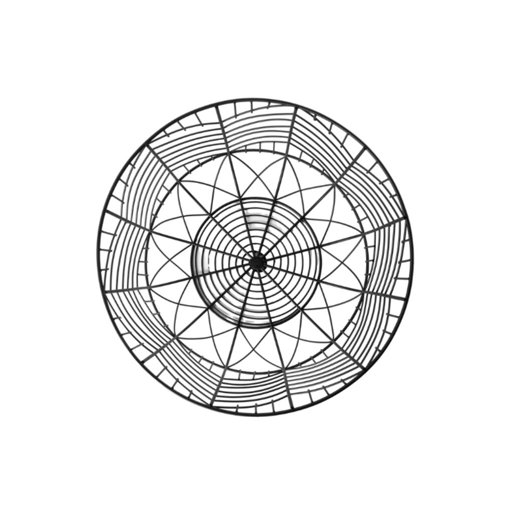 IDRIS METAL GEOMETRIC BOWL, SMALL