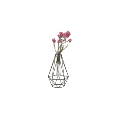 Bacon GEOMETRIC WIRE TUBE VASE, LARGE