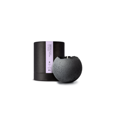 Konzuk KONZUK CONCRETE ORBIS WITH CANDLE, CHARCOAL