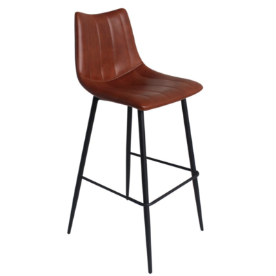 BORNE BAR STOOL, BROWN