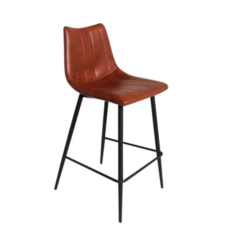 BORNE COUNTER STOOL, BROWN