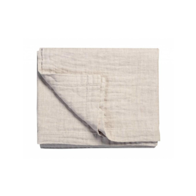 Brunelli HERRINGBONE GREY COVERLET, KING