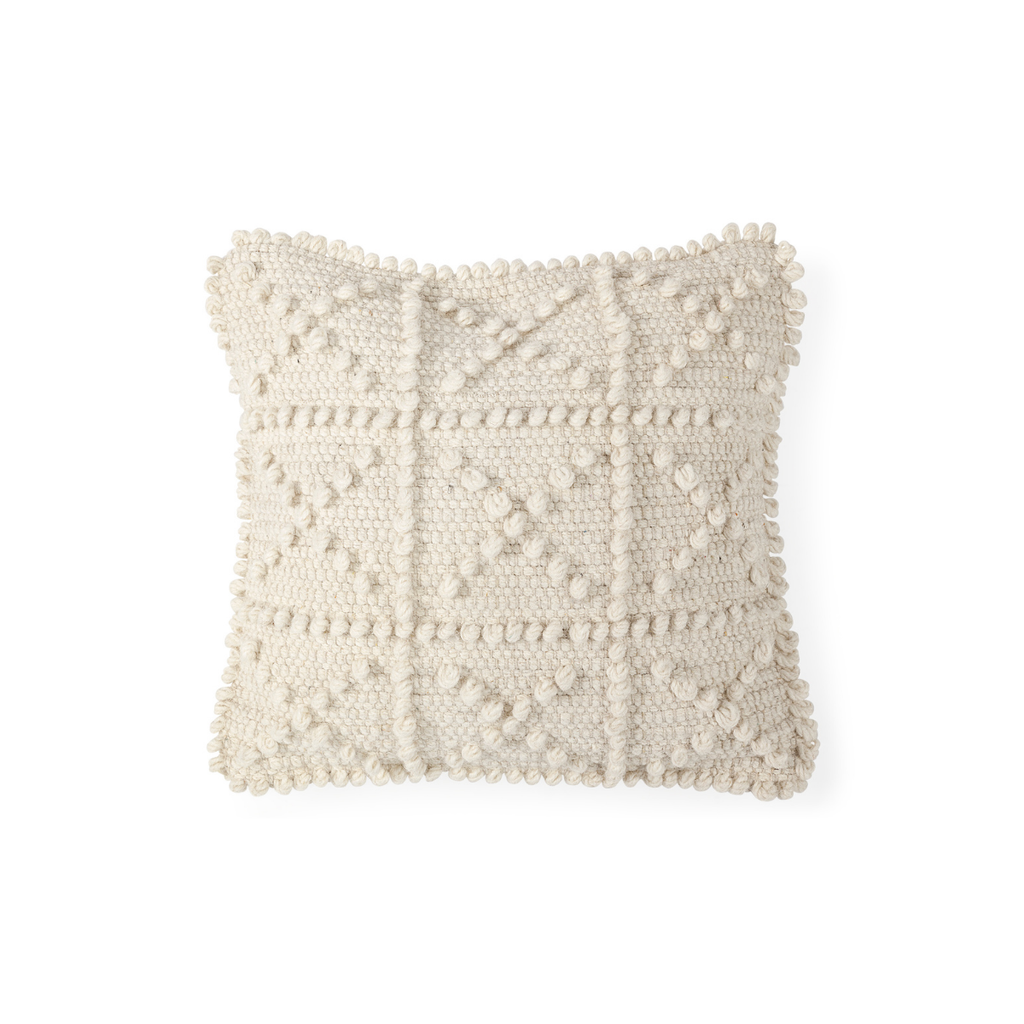 """ROLY WOOL PILLOW, 18"""" X 18"""""""
