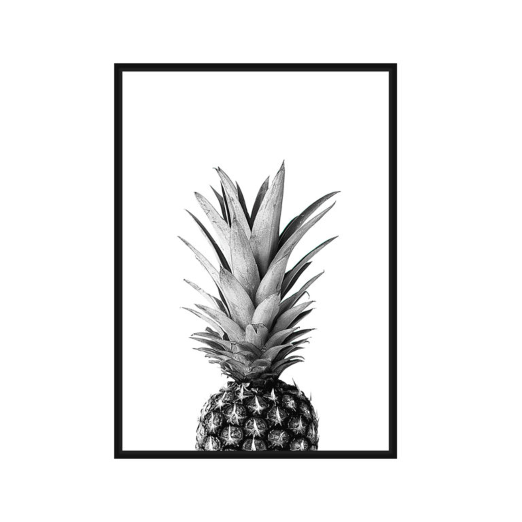 Style in Form PINEAPPLE CANVAS WALL ART
