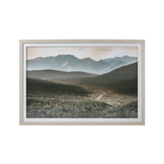 DUSTY ROADS, FRAMED PICTURE