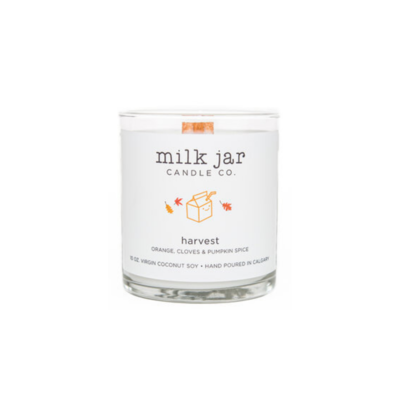 Milk Jar Candle Company Inc. MILK JAR CANDLE, HARVEST