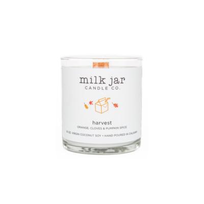 Milk Jar Candle Company Inc. MILK JAR CANDLE, HARVEST