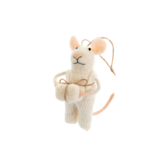 GIFTING GRAHAM MOUSE ORNAMENT