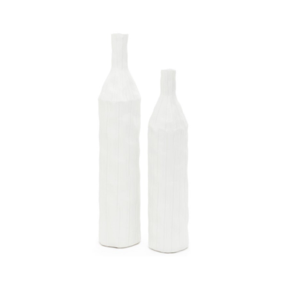 SKYLINE VASE, WHITE, MEDIUM