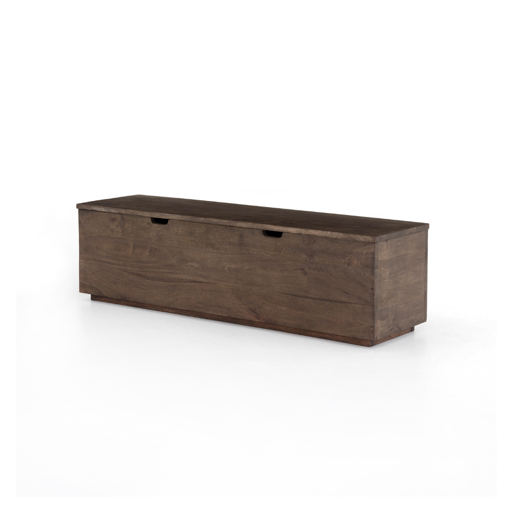 Four Hands DUNCAN TRUNK/BENCH, GREY