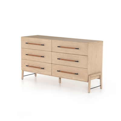 Four Hands BLIXEN SIX DRAWER DRESSER
