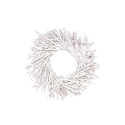 "Botanico TEA TREE WREATH, WHITE WASH, 20"""