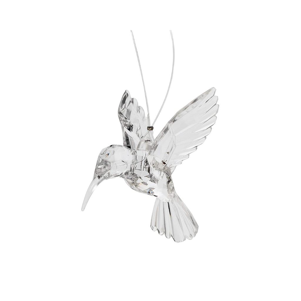 CRYSTAL LOOK HUMMINGBIRD ORNAMENT