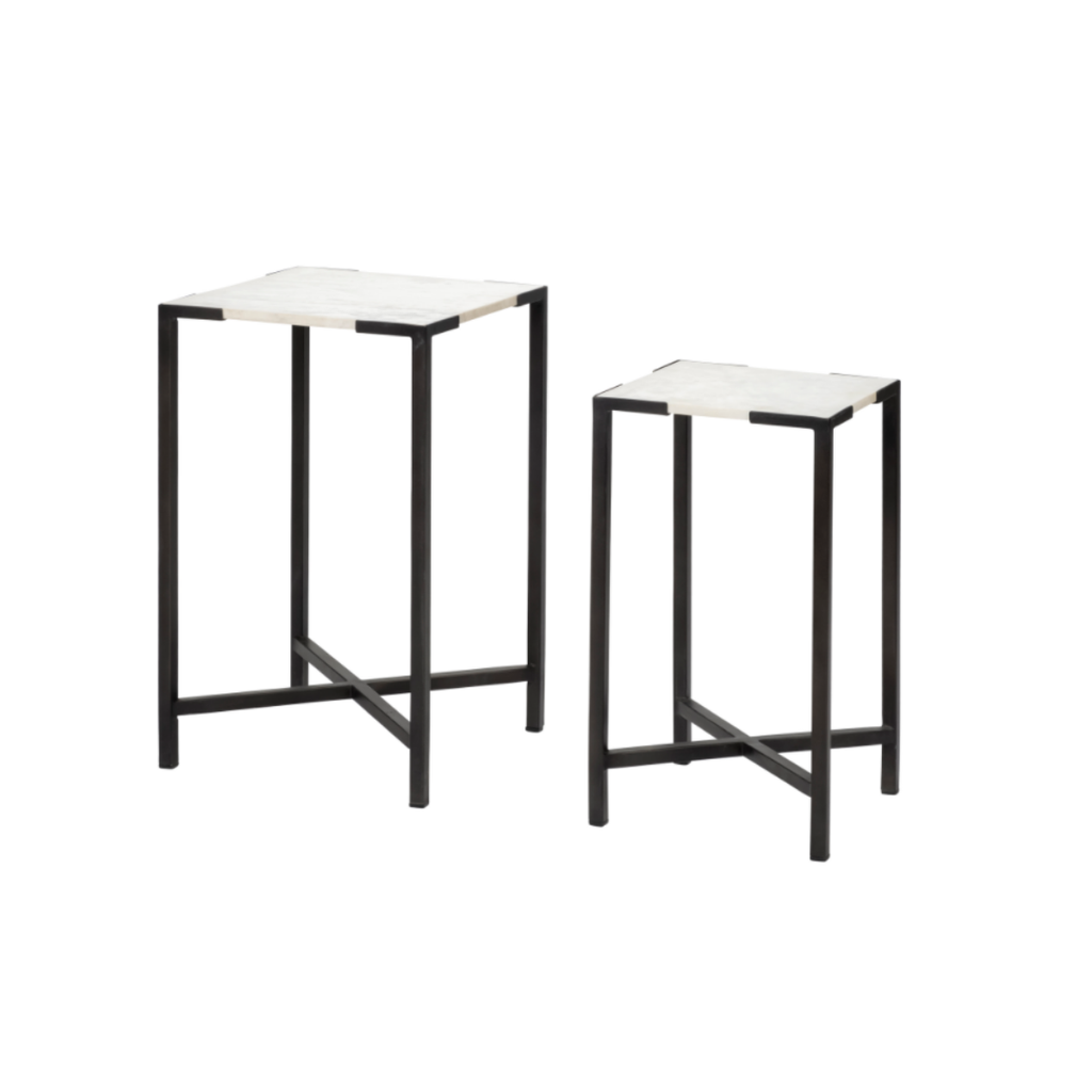 LILY ACCENT TABLES, SET 2