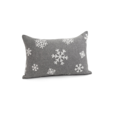GREY SNOWFLAKE CUSHION