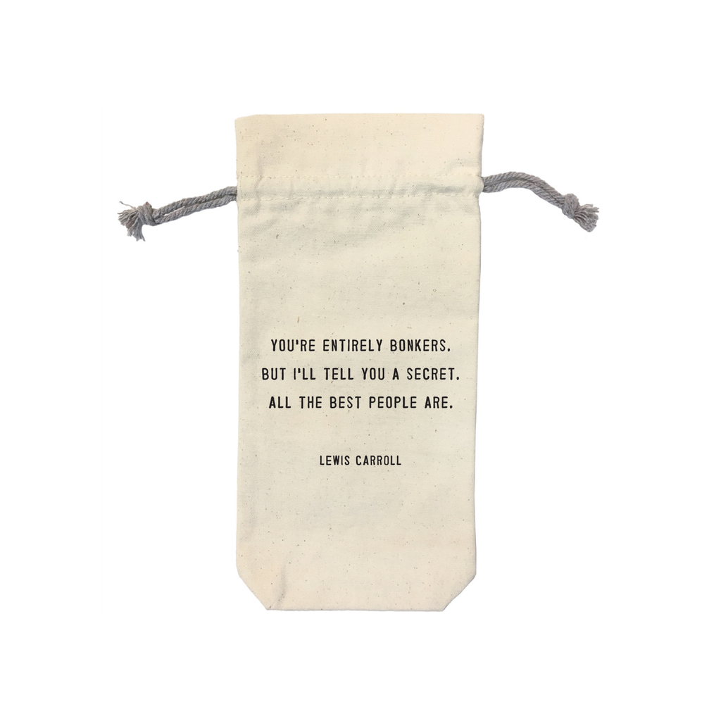 SugarBoo WINE BAG, YOU'RE ENTIRELY BONKERS