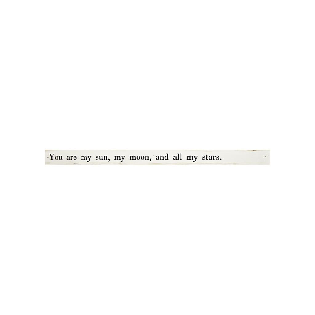 SugarBoo POETRY STICK, YOU ARE MY SUN, MY MOON