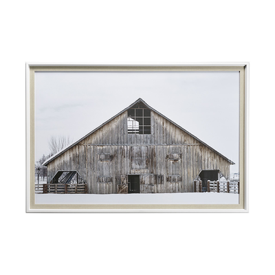 BEAUTIFUL BARN, FRAMED ART