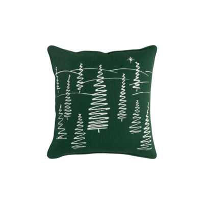 Surya (RSC Inc.) TREE SKETCH HOLIDAY PILLOW