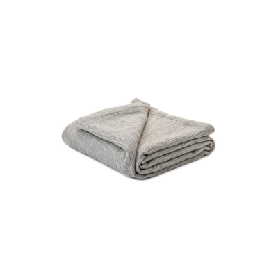 Brunelli WESTMOUNT GREY BLANKET, QUEEN, 88 x 90