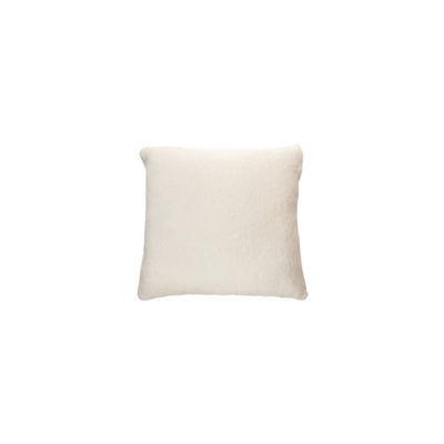 Brunelli URBAN EUROPEAN SHAM, WHITE, FEATHER INSERT, 25 x 25