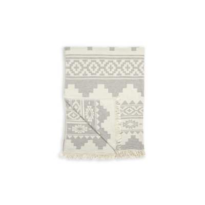 Pokoloko ATZI THROW, GREY/WHITE