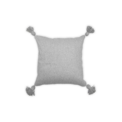 Pokoloko MOROCCAN PILLOW, LIGHT GREY