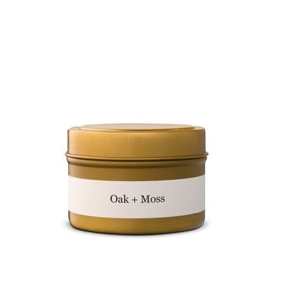 Brand & Iron BRAND & IRON OAK + MOSS CANDLE, TIN, 4OZ