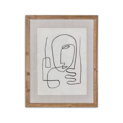 Style in Form HOMME FRAMED ART