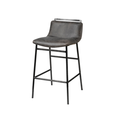 CALVARY COUNTER STOOL, CHARCOAL
