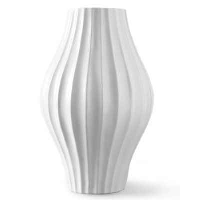 Jonathan Adler JA GIANT BELLY VASE, WHITE