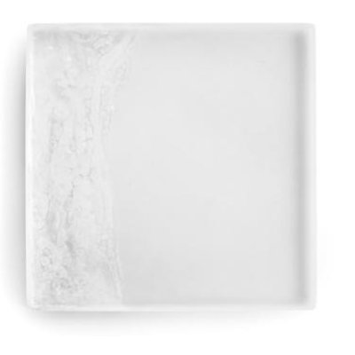 MARTHA STURDY TRAY, WHITE, 12""