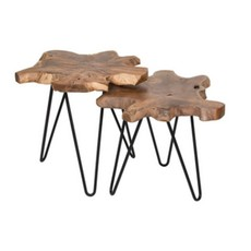 Style in Form HAIRPIN NESTING TABLE, SMALL