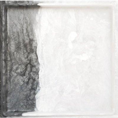 MARTHA STURDY TRAY, SILVER/WHITE MARBLE