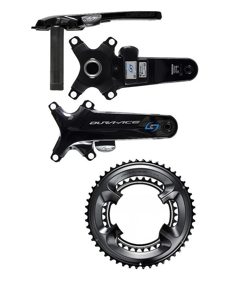 Stages Cycling Power R with Chainrings - Dura-Ace R9100