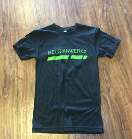 Belgianwerkx T-Shirt Green Logo