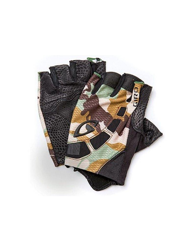 Giro Zero Glove, Black/Green Camo, Medium