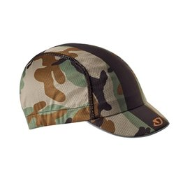 Giro Cycling Cap, Camo/Black/Orange, One Size