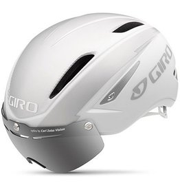 Giro Air Attack Shield, White/Silver