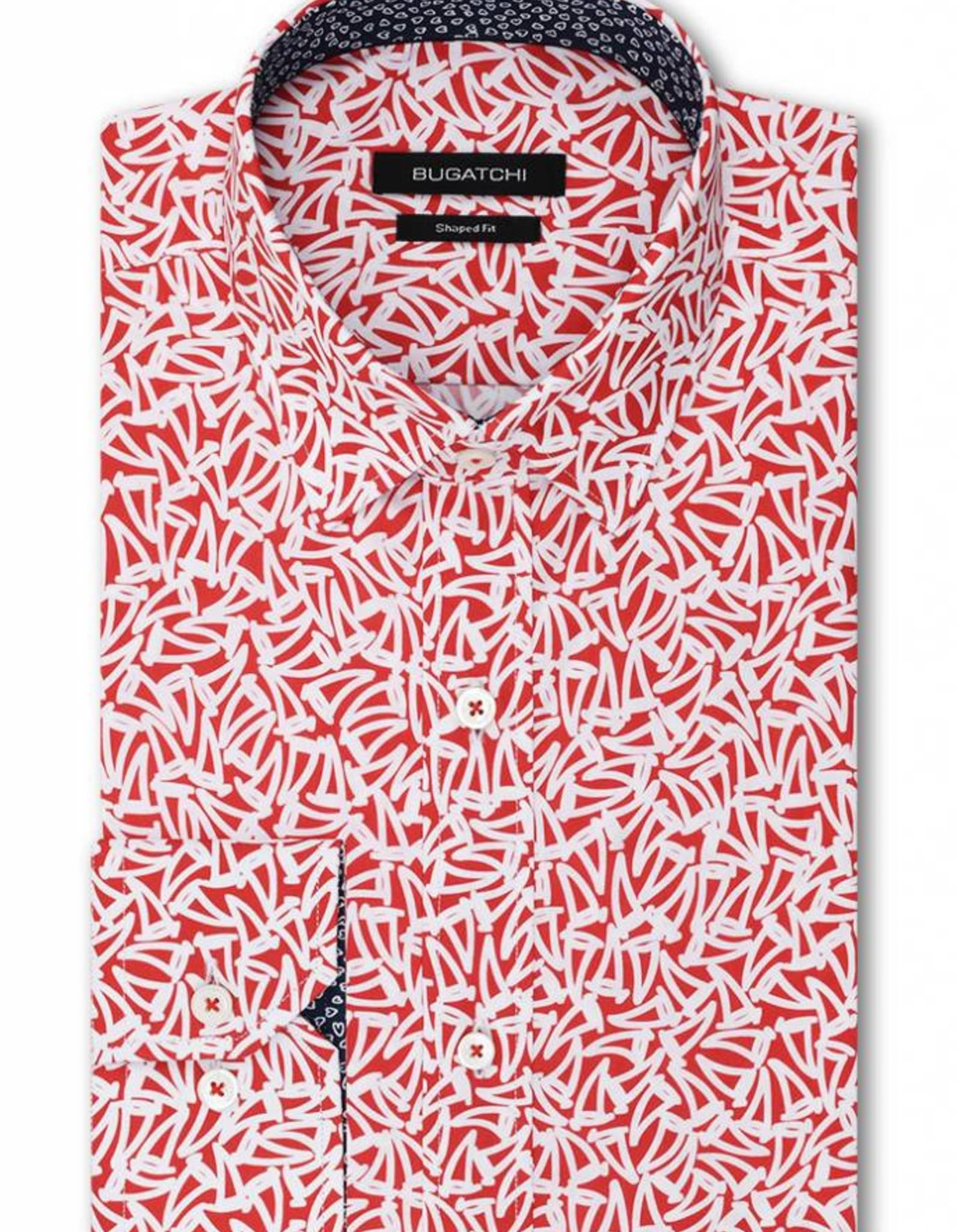 Bugatchi Bugatchi Pimento L/S Classic Fit Shirt