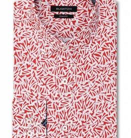 Bugatchi Pimento Long Sleeve  Classic Fit Shirt