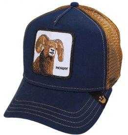 Goorin Bros Navy Horny Cap