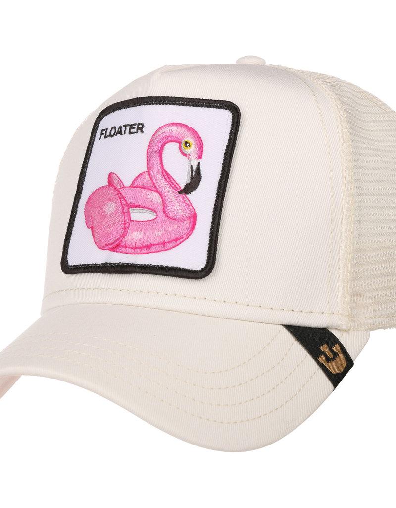 Goorin Bros Goorin Bros White Floater Cap