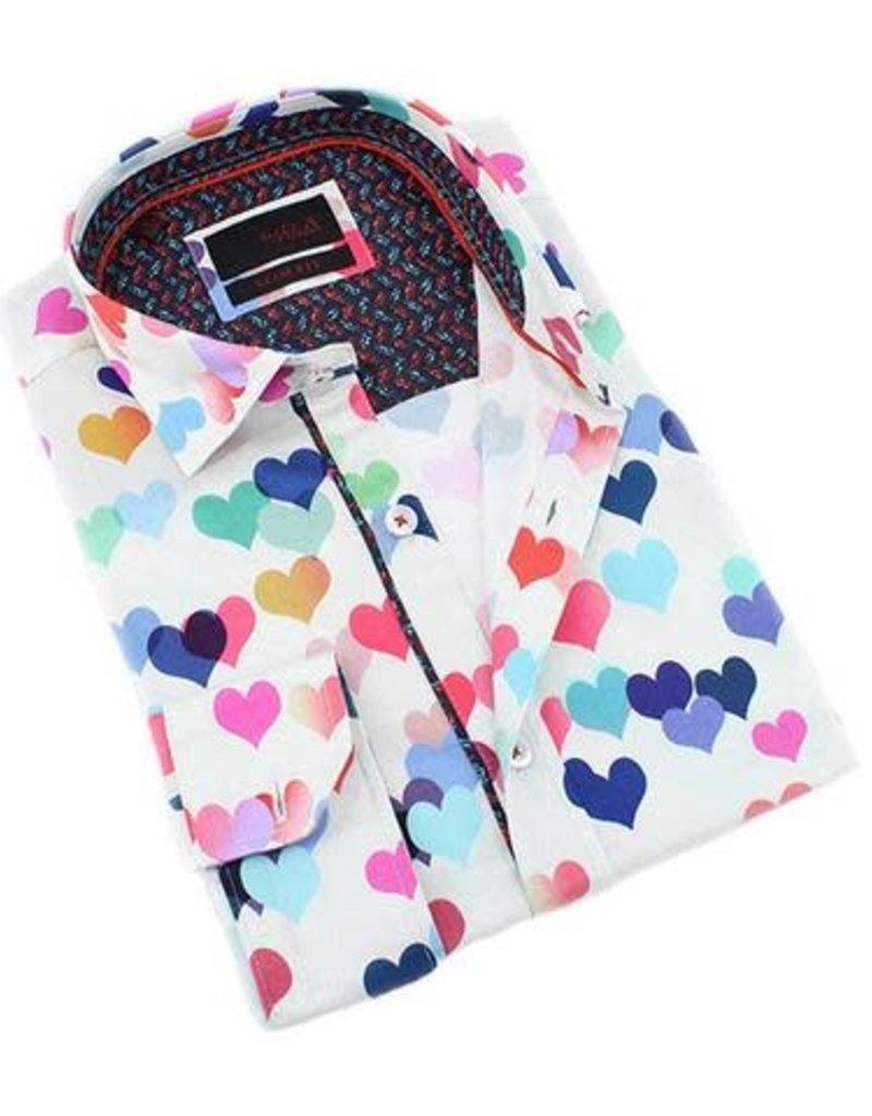 Eight X White Modern Lover Long Sleeve Shirt