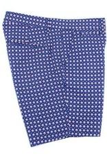 Eight X Blue Dot Print Shorts
