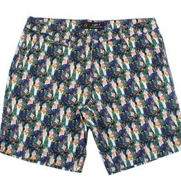 Eight X Green Flamingo Shorts