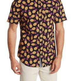 Straight Faded Straight Faded Black Pineapple Shirt