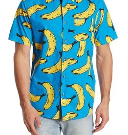 Straight Faded Blue Bananas Shirt