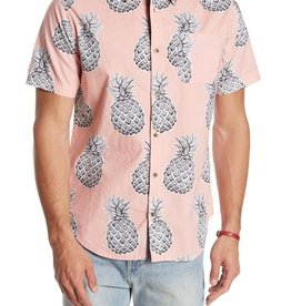 Straight Faded Pink Pineapple Shirt